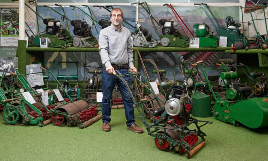 'Brian May once called me up and offered me his mower': Brian Radam of the Lawnmower Museum.
