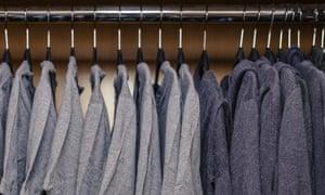 Mark Zuckerberg's wardrobe.