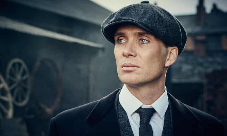Cillian Murphy as  Thomas Shelby in Peaky Blinders.