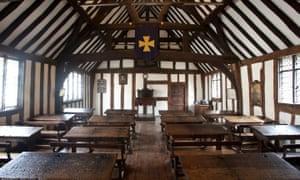 King Edward VI School, where Shakespeare was educated.