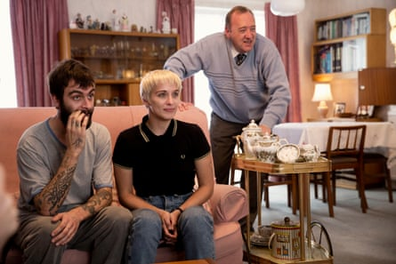 Joe Gilgun, Vicky McClure and William Travis in This Is England.