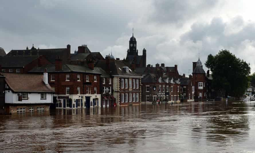York has long suffered from flooding due to the swollen river Ouse.