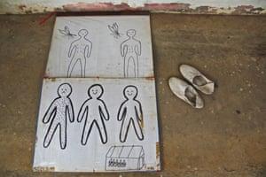 Illustrations depicting malaria