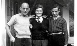Nancy and Archie Johnstone with their friend Walter Leonard.