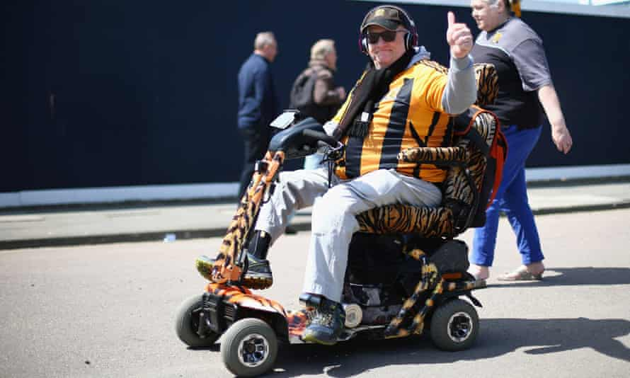 Disabled supporter