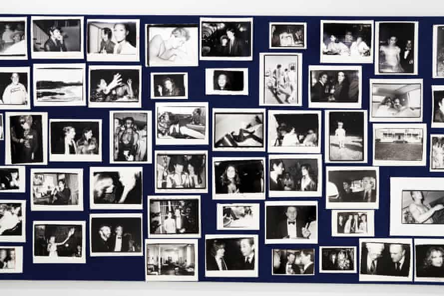 An installation image of Pictures From Another Time: Photographs by Bob Colacello, 1976 – 1982