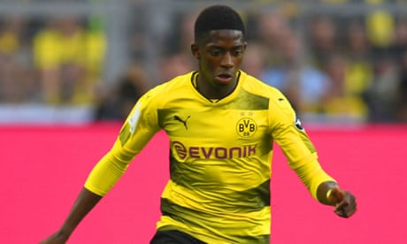 Ousmane Dembélé joins Barcelona in deal worth up to £135m – video