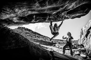 """Honourable mention: Ricardo Alves Moe's Valley, Southwest Utah, USA """"Moe's Valley is a sandstone bouldering paradise located just outside of St. George"""""""