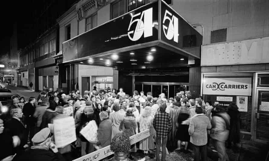 The queues outside Studio 54 in New York were like 'the damned looking into paradise'.