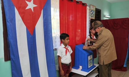 Cuba votes in referendum on new constitution.