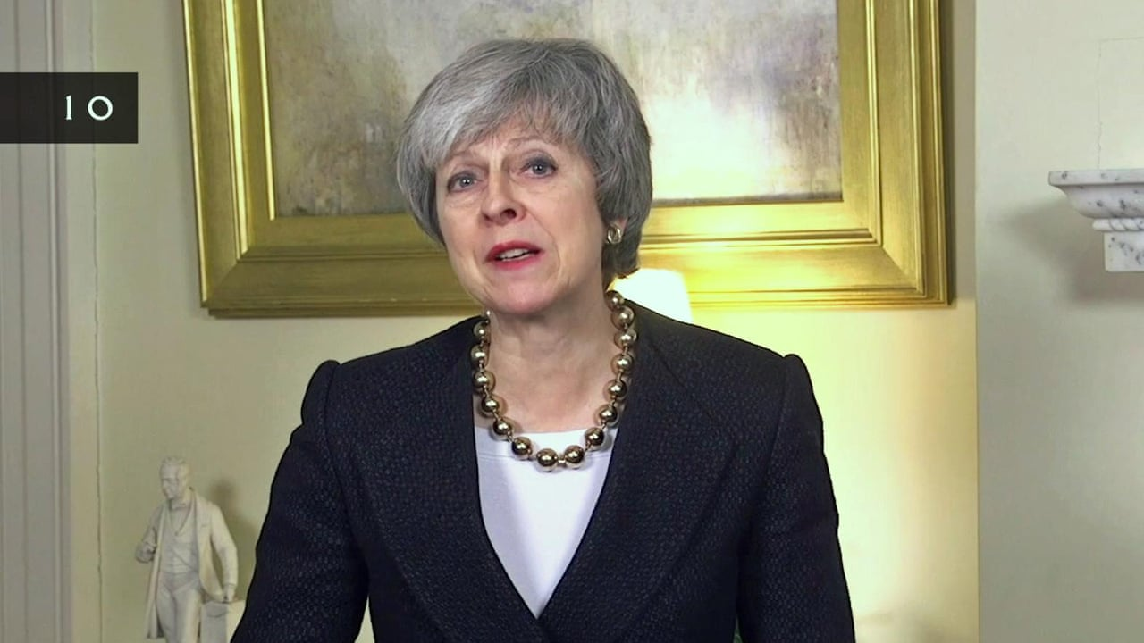 Theresa May's new year message: back Brexit deal – video