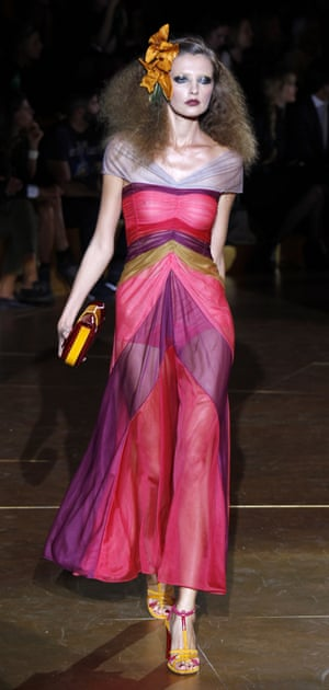 Marc Jacobs' show at 2011 New York fashion week.