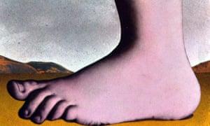 The Monty Python Foot