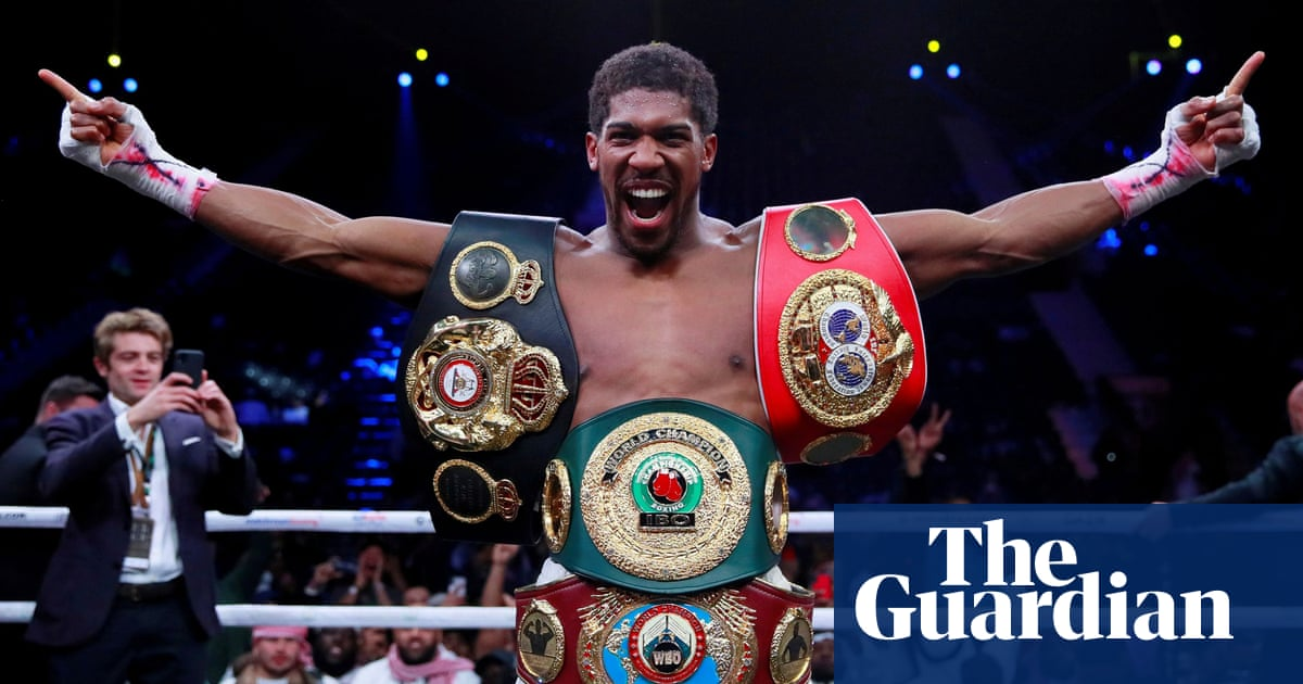 Anthony Joshua bout with Pulev makes Wembley switch to allow fans in arena