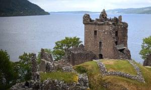 A castle in Scotland