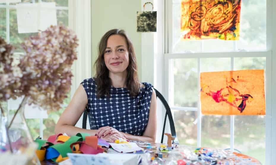 Melinda Wenner Moyer at home in the Hudson Valley, New York