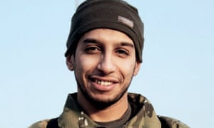 A picture of Abdelhamid Abaaoud that was published in Islamic State's online magazine Dabiq