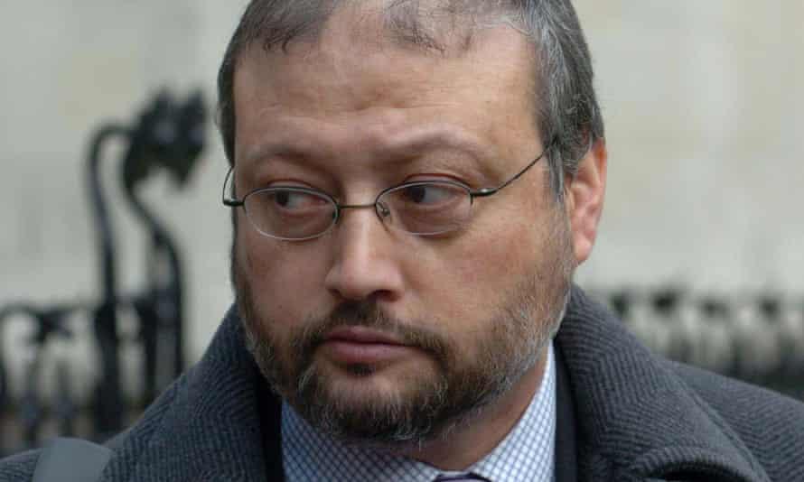 File photo dated December 2004 of Jamal Khashoggi.