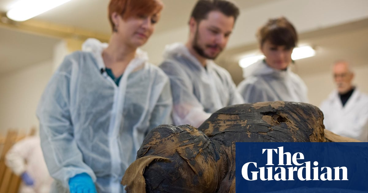 Researchers 'shocked' to find Egyptian mummy was a pregnant woman