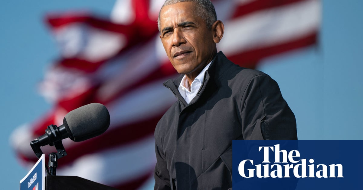 Obama accuses Trump of violating democracy and making up a 'whole bunch of hooey'