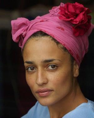 Zadie Smith in 2001.