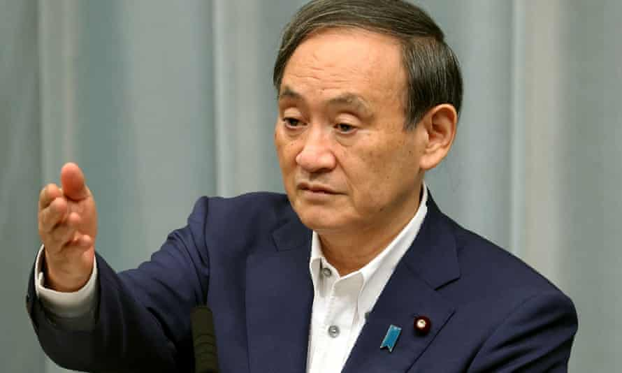 Japan's chief cabinet secretary, Yoshihide Suga, is being touted as the continuity candidate in the contest.