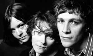 The Pastels ... (L-R) Katrina Mitchell, Aggi Wright and Stephen McRobbie.