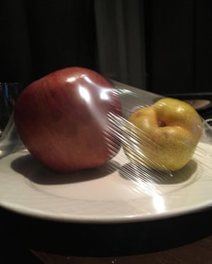 Still life … Fruits isolés from Wolfgang Tillmans' Instagram account.