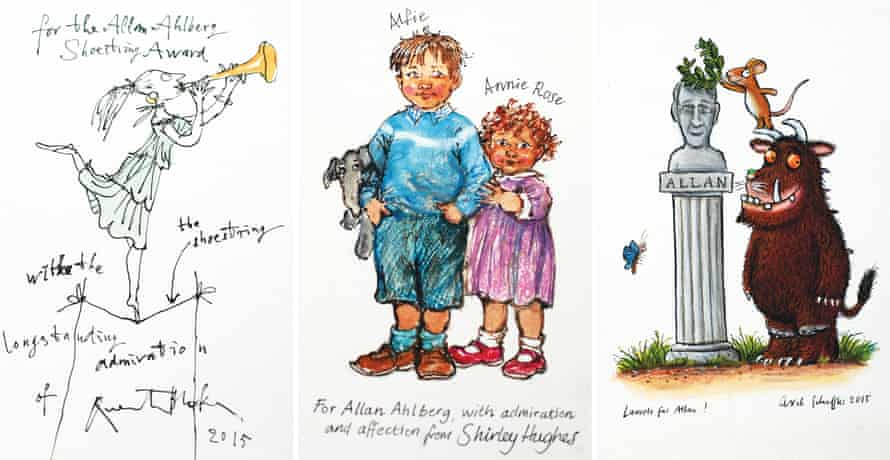 Ahlberg's prize illustrations