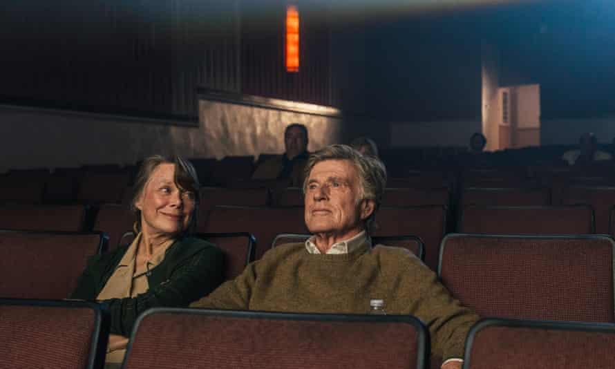 Invented love interest … Sissy Spacek and Robert Redford.