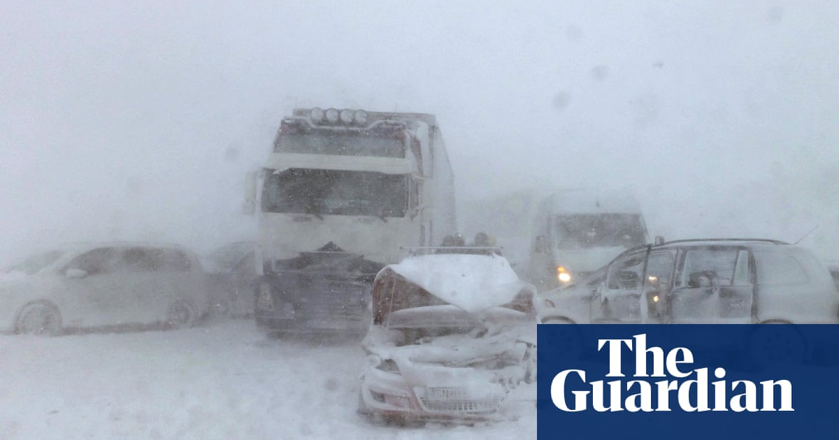 Winter Returns To Europe With A Vengeance News The Guardian