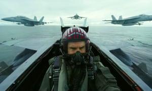 Tom Cruise in Top Gun: Maverick.