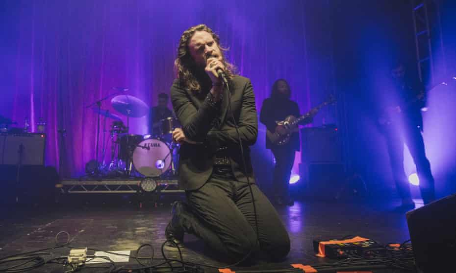 Father John Misty performing in Leeds last year.