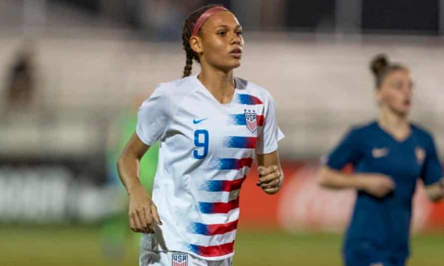 Trinity Rodman has already starred at youth level for the US