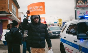 Chicago gun violence protest