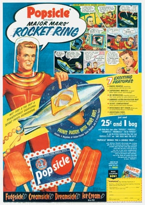 Pocket ring free with Popsicle lollypops, 1952