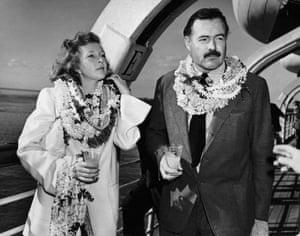 Martha Gellhorn and Ernest Hemingway in 1941
