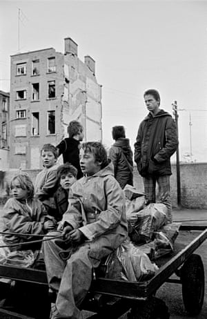 Delivering fuel, North Inner City, Dublin, 1987From city streets to the remote countryside, photographs in this book document the spectrum of public life, across Ireland and Northern Ireland.
