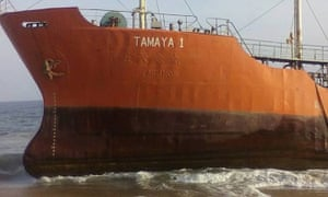 Local reports cite a source in Liberia's port authority who said the vessel's owner might have had no money to pay crew members.
