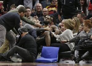 Cleveland, USA Cleveland Cavaliers' LeBron James