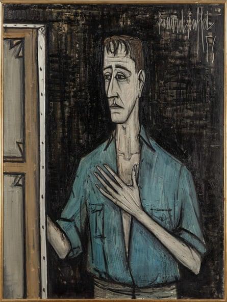 A 1956 portrait by Bernard Buffet.