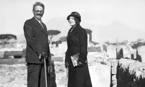 Trotsky and his wife Natalia in 1937. Following the attack, Trotsky died of his wounds in hospital. Mercader was put on trial and was imprisoned for nearly 20 years.