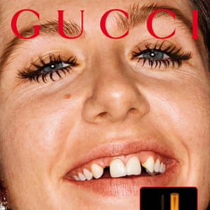 Dani Miller wearing Gucci's new L'Obscur mascara