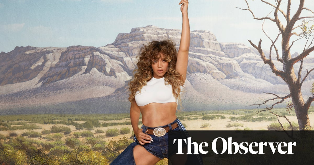 Hello chaps! Beyoncé leads fashion posse back to the wild west