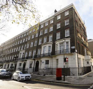 Number 34 Montagu Square, in Marylebone - the first home of couple John Lennon and Yoko Ono. Their famous nude Two Virgins cover was shot here in its basement while Paul McCartney recorded a demo version of Eleanor Rigby.