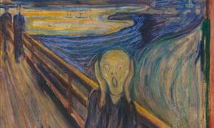 The Scream, 1893, by Edvard Munch, Nasjonalgalleriet, Oslo, Norway