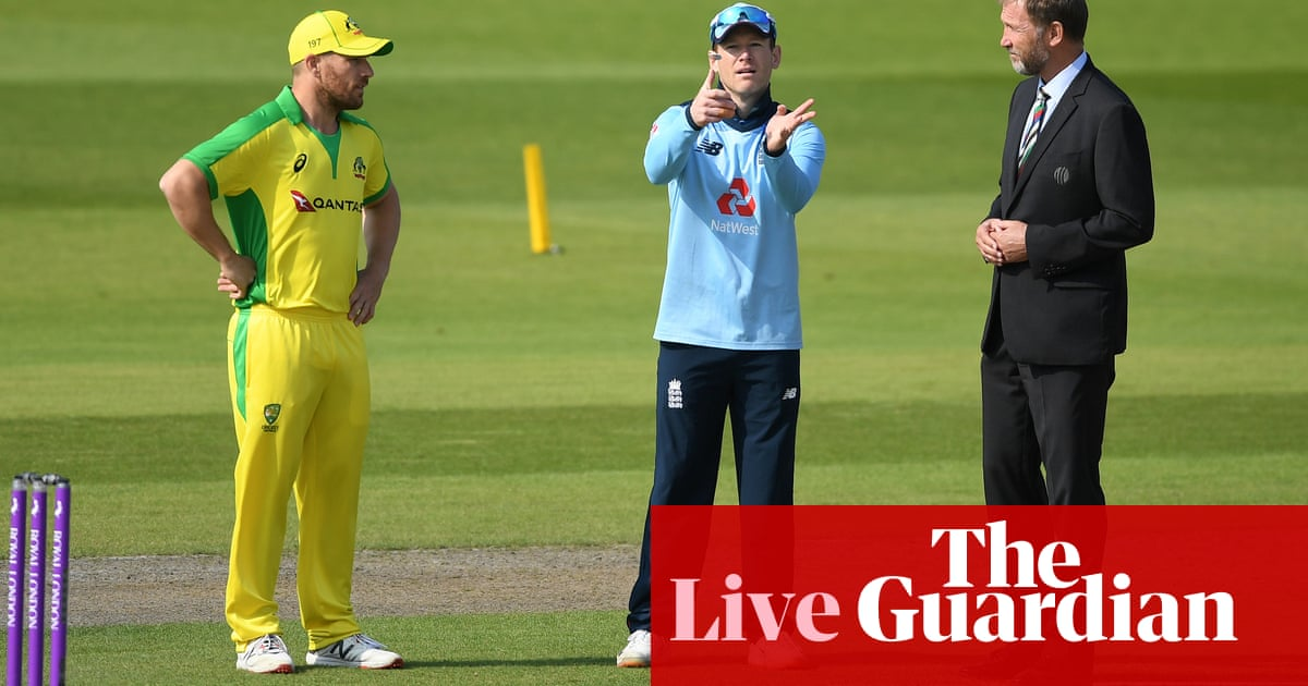 England v Australia, third one-day cricket international – live!
