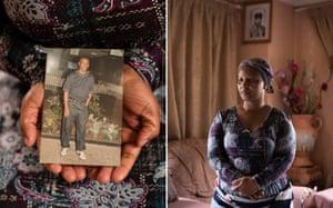 Susan Phoshoko was legal guardian to her 28-year-old nephew, Terance Chaba