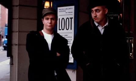 Gary Oldman and Alfred Molina in Prick Up Your Ears