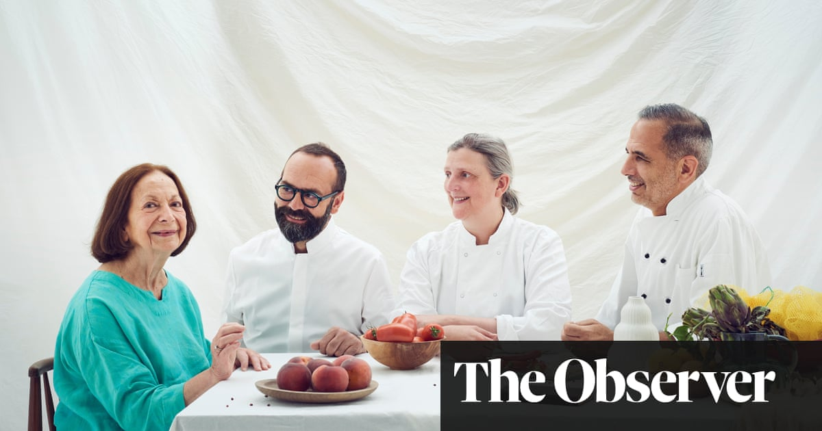 Claudia Roden: 'What do I want from life now? Having people around my table'